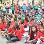 Over 250 children participated.