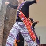 Performer Toño Vilchez.