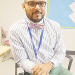 """""""Students need support to be successful,"""" said Engagement Coordinator Christian Guerrero."""