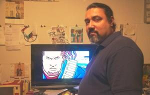 """""""Los comics fueron mi droga de entrada hacia otro tipo de ficción"""", dice el artista Sandy Jiménez."""