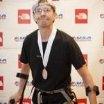 Payne ganó el bronce en los Nacionales USA Paraclimbing. Foto: JenFu Cheng Photography