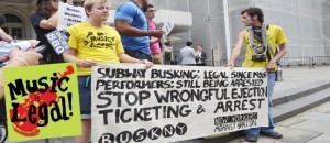 The busting of buskers </br> La redada de músicos callejeros