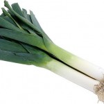 Leeks are a good source of vitamins K and B6.