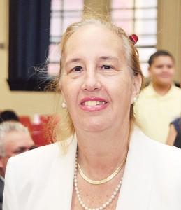 La presidenta del condado de Manhattan Gale Brewer.