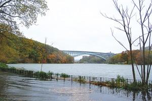 Water surged through Inwood Hill Park. </br><i>Photo: QPHOTONYC</i>