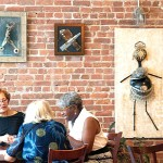 Her new show has opened at the Home Sweet Harlem Bistro.