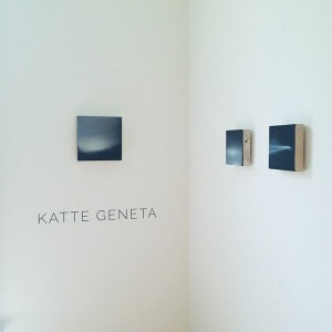 Geneta's latest works can be seen at the Governors Island Art Fair.