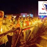Julia Álvarez (far left), Paulino and other activists have founded Border of Lights. Photo: Tony Savino