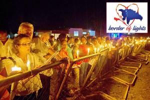 Julia Álvarez (far left), Paulino and other activists have founded Border of Lights. <br/><i>Photo: Tony Savino</i>