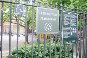 The Carmansville Playground will receive CPI funding.