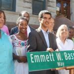 Bassett's Block<br />La cuadra de Bassett