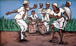 Learn about the musical traditions of bomba and plena.