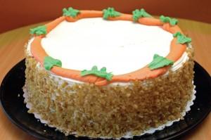 El famoso pastel de zanahoria de Mancino.  Foto: M. Fitelson