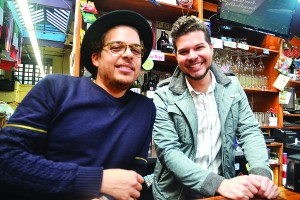 """The Bronx is the best,"" said Bronx Beer Hall proprietor Anthony Ramírez (right) with his brother and partner Paul."