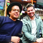 """""""The Bronx is the best,"""" said Bronx Beer Hall proprietor Anthony Ramírez (right) with his brother and partner Paul."""