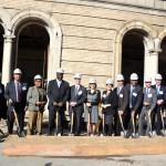 The start of construction at The Residences at PS 186 was celebrated.