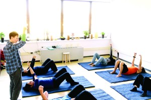 The Inwood Movement studio offers group classes.