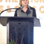 """""""It is an incredible day,"""" said Housing Preservation and Development Commissioner Vicki Been."""