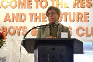 """""""It has been a long journey,"""" said Shirley Lewis of the Boys and Girls Club of Harlem."""