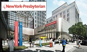The emergency room facilities at New York-Prebyterian are slated to expand.