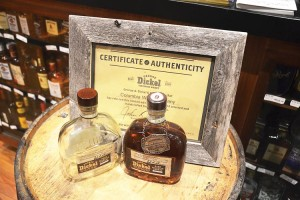 A special batch of Tennessee whiskey has been created just for the store.
