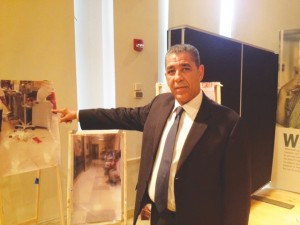 """There hasn't been enough of a discussion,"" said Senator Adriano Espaillat, pointing to photographs of cramped ER conditions."