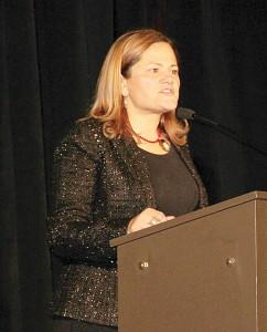 Keynote Speaker Melissa Mark-Viverito.