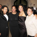 From left to right: Northern Manhattan District Leader Maria Morillo, Councilmember Julissa Ferreras, Deputy Brooklyn Borough President Diana Reyna, and Community Liaison to State Sen. Adriano Espaillat.