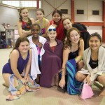 """The whole team is my friend,"" says Alicia of her Riverbank Redtails Swim Team."
