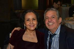 Mi esposa, la Dra. Luz Towns Miranda, y yo hemos celebrado casi cuatro décadas de matrimonio.