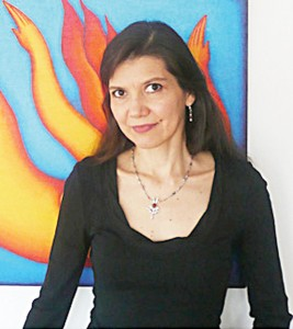 Visual artist Andrea Arroyo.