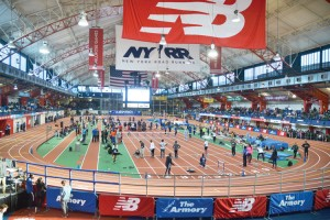 The EmblemHealth Hispanic Games is the largest indoor high school meet in the country.