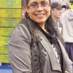 East Harlem coach Nydia Warner.