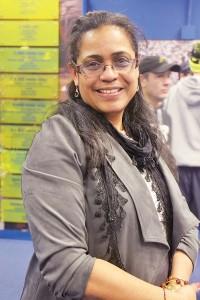 La entrenadora Nydia Warner de East Harlem.