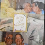 Pictures of the couple's 50th anniversary.