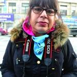 Organizer Marina Ortiz.