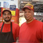 Owner Eddie Salgado (right) and Anthony Rosario.