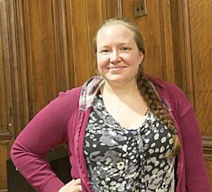 """It changed my entire life,"" says student Danielle Rivera. <br/><i>Photo: S. Mazzocchi</i>"