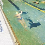 Swimming is a terrific aerobic workout.