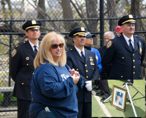"""Michael was killed protecting the good people of Washington Heights,"" said Mary Jo Buczek, Officer Buczek's sister and Vice President of the Buczek Foundation."