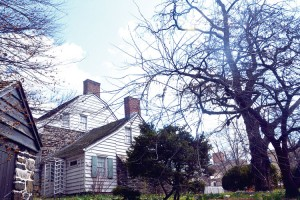 The Dyckman Farmhouse was built in 1784.