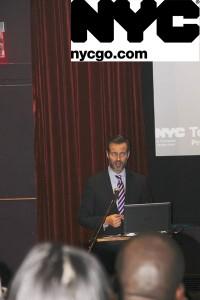 """""""Tenemos el mejor producto en el mundo entero"""", dijo Fred Dixon, presidente y director general de NYC & Company."""