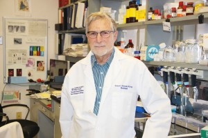 Michael Shelanski, MD, is Co-Director of the Taub Institute and Delafield Professor of Pathology and Cell Biology.
