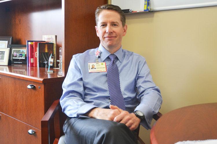 """""""La feria parece crecer cada año"""", dice Kevin Curtin, vicepresidente de operaciones."""