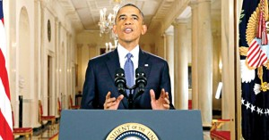 President Obama announced executive actions on immigration policies in November 2014.