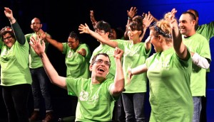 Students learn acting, singing and dancing skills.