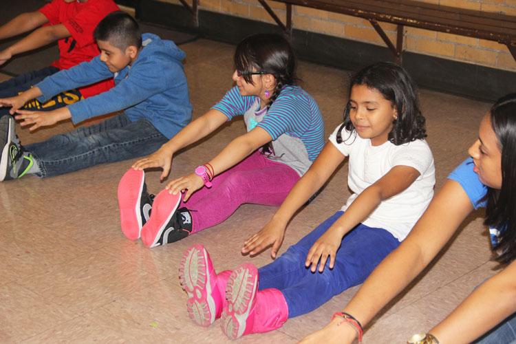 NYJTL's afterschool program is held five days a week.