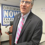 """""""Our goal is to empower immigrant New Yorkers,"""" said Prof. Allan Wernick."""