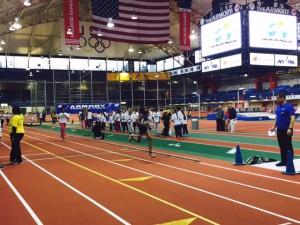 Los estudiantes recibieron instrucción atlética de parte de New York Road Runners.