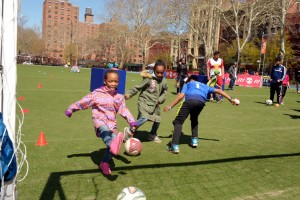 The Street Games were celebrated in East Harlem.